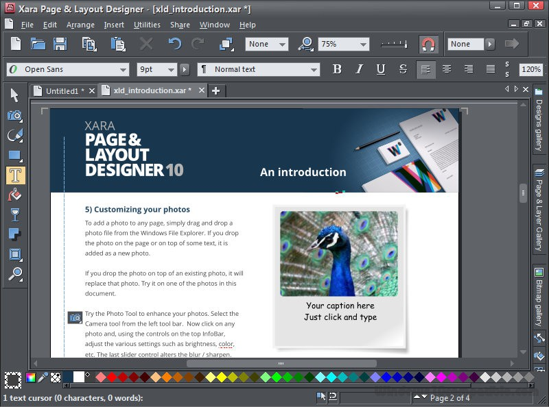 Xara Page and Layout Designer 10 Free download